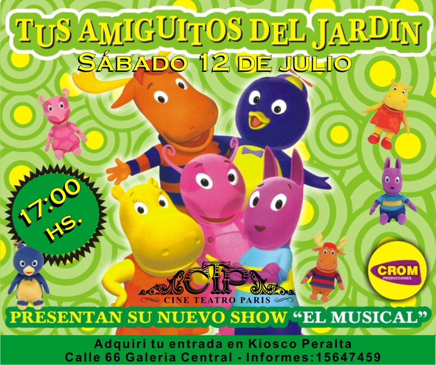 02 julio 2008 noticias necochea diario digital for Amiguitos del jardin