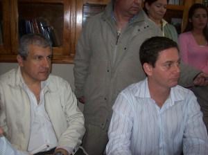 Senadores Alfredo Meckievi  y Gastón Guarracino