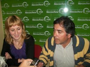 Verónica García y Diego Cersósimo