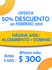 Diseño Página Web + OFERTA