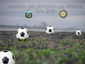 TORNEO DEL INTERIOR DE FÚTBOL 2013 - AFA