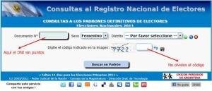 Donde-votar Elecciones en Argentina Necochea 2013 - 2015