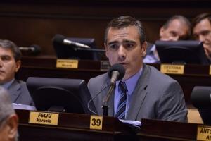 El diputado Marcelo Feliú redactó la propuesta que ya es ley.