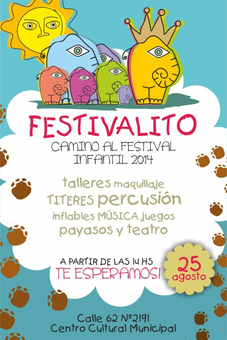 22 08 AFICHE Festivalito Infantil