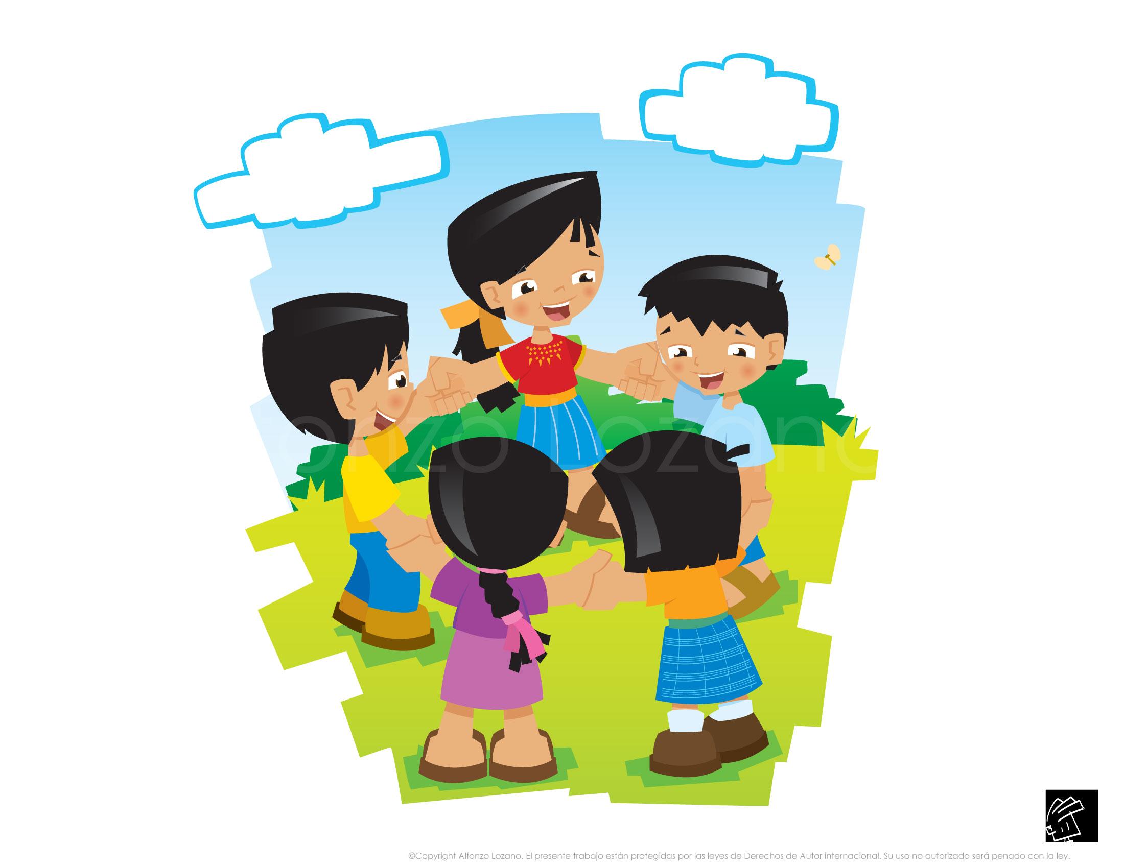 Ni os jugando noticias necochea diario digital - Dibujos infantiles de ninos jugando ...