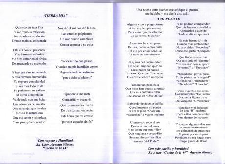 Libro de AGUSTIN VOMERO