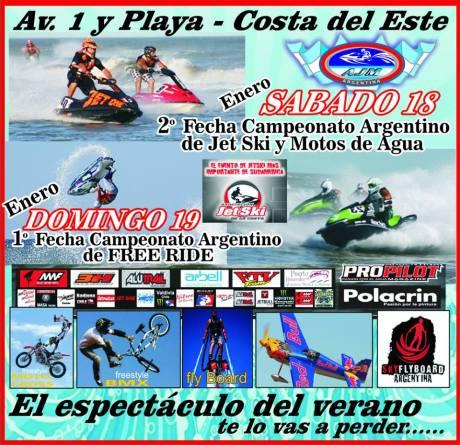 Campeonato Argentino de jestsky y motos de agua - free ride