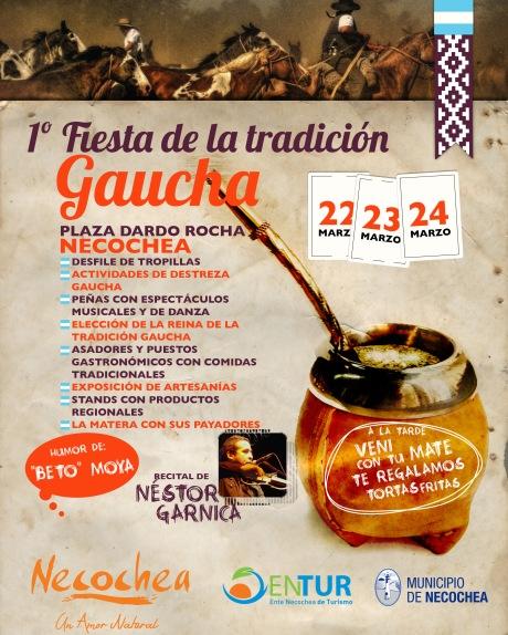 AFICHE Fiesta de la Tradición Gaucha