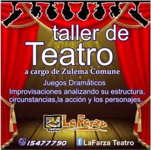 taller de teatro 2014
