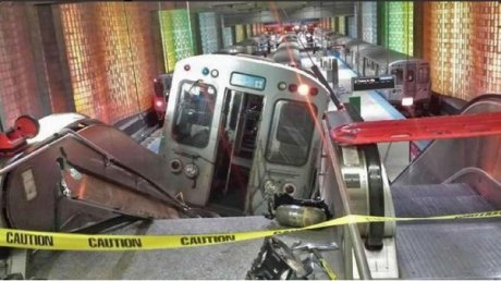 Accidente de trenes en Chicago - Estados Unidos