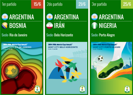 Entradas para el Mundial Brasil 2014