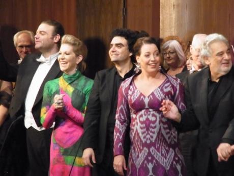 Ganadores de Operalia con Plácido Domingo