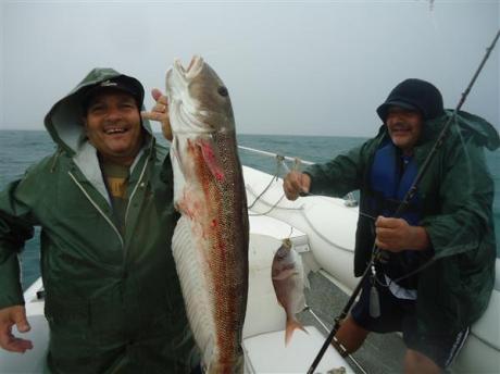 Pesca embarcado en Necochea
