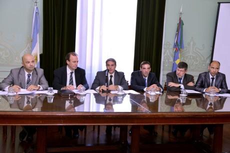 El diputado Darío Golía presentó su proyecto con un panel interdisciplinario