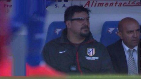 Google Glass para Germán Mono Burgos del Atlético de Madrid