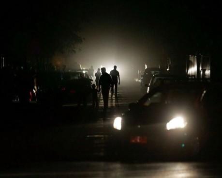 Oscura la calle