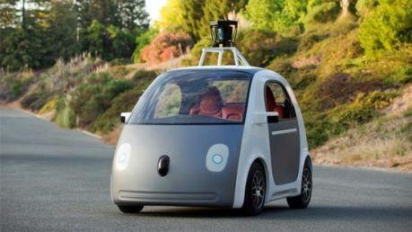 Auto de Google sin conductor