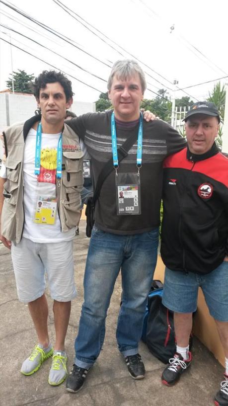 Ezequiel Suarez, Diego Castaño y Santiago Veiga