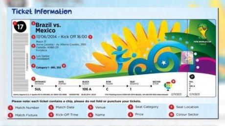 Un taxista devolvió entradas para el Mundial que encontró en su auto